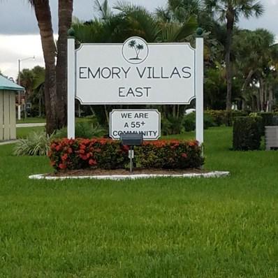 2737 Emory Drive E UNIT J, West Palm Beach, FL 33415 - MLS#: RX-10465161