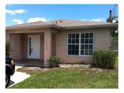 6839 4th Street, Jupiter, FL 33458 - MLS#: RX-10465177