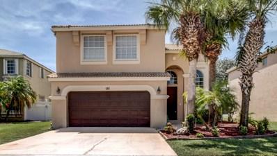 281 Saratoga Boulevard E, Royal Palm Beach, FL 33411 - #: RX-10465207