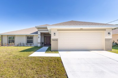 3431 SW Englewood Street, Port Saint Lucie, FL 34953 - MLS#: RX-10465222