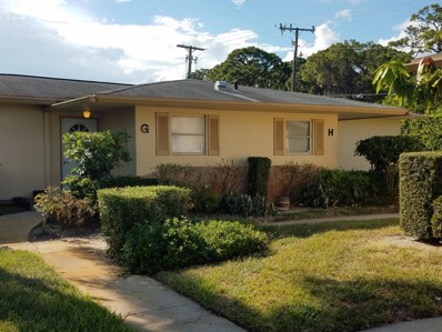 2551 Barkley Drive W UNIT G, West Palm Beach, FL 33415 - MLS#: RX-10465232