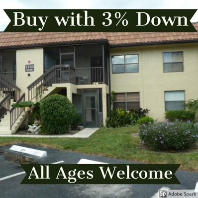 7233 Golf Colony Court UNIT 101, Lake Worth, FL 33467 - MLS#: RX-10465435