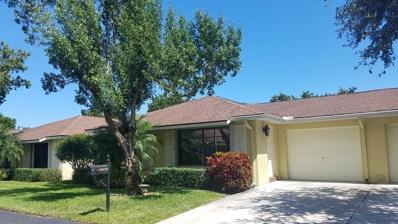9970 Ligustrum Tree Way UNIT A, Boynton Beach, FL 33436 - #: RX-10465728