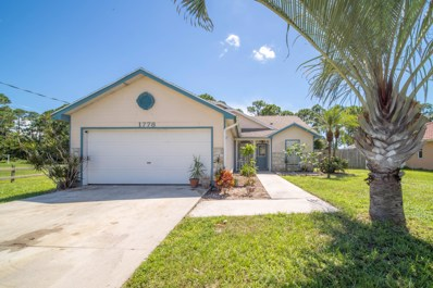 1778 SW Millikin Avenue, Port Saint Lucie, FL 34953 - MLS#: RX-10465772