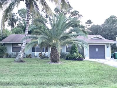 1668 SW MacKey Avenue, Port Saint Lucie, FL 34953 - MLS#: RX-10465834