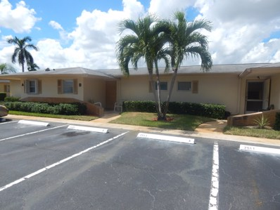 2511 Barkley Drive W UNIT B, West Palm Beach, FL 33415 - MLS#: RX-10466030
