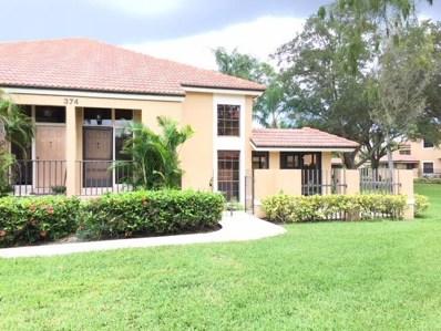 374 Prestwick Circle UNIT 4, Palm Beach Gardens, FL 33418 - MLS#: RX-10466067