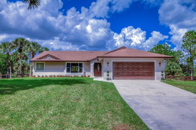 11065 63rd Lane N, West Palm Beach, FL 33412 - MLS#: RX-10466726