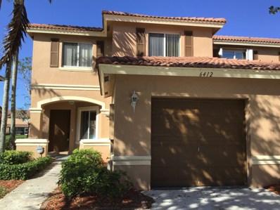 6412 Sandy Bank Terrace, Riviera Beach, FL 33407 - MLS#: RX-10466731