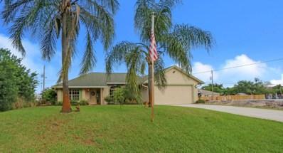 317 SW Hollyhock Drive, Port Saint Lucie, FL 34953 - #: RX-10466880
