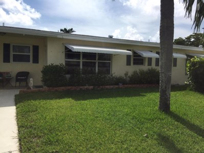 220 Bayview Avenue UNIT B, Boynton Beach, FL 33435 - MLS#: RX-10467141