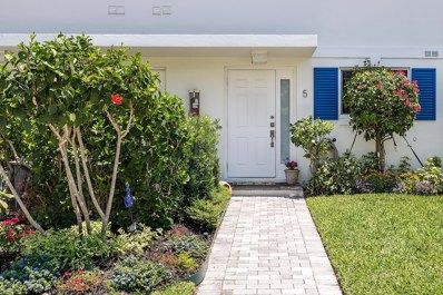 130 Andrews Avenue UNIT 5, Delray Beach, FL 33483 - MLS#: RX-10467341