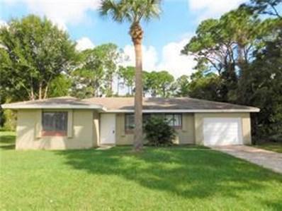 1866 21st Place SW, Vero Beach, FL 32962 - MLS#: RX-10467358