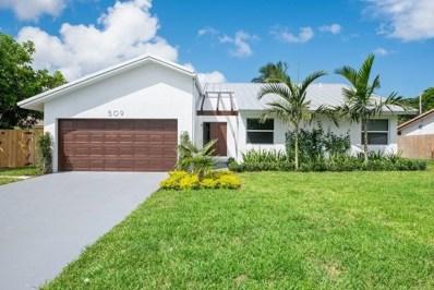 509 Enfield Road, Delray Beach, FL 33444 - #: RX-10467546