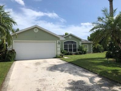 6856 Bronte Circle, Port Saint Lucie, FL 34952 - MLS#: RX-10467887