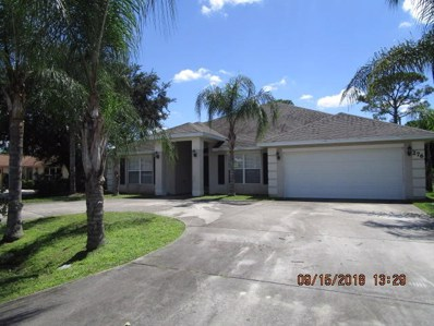276 NE Granduer Avenue, Port Saint Lucie, FL 34983 - MLS#: RX-10467899