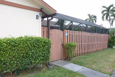1161 Summit Place Circle UNIT D, West Palm Beach, FL 33415 - #: RX-10468049