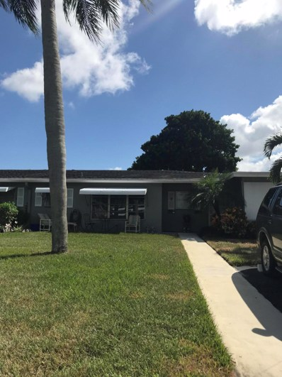 722 South Drive UNIT C, Delray Beach, FL 33445 - MLS#: RX-10468126