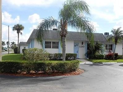 2638 Gately Drive E UNIT 130, West Palm Beach, FL 33415 - MLS#: RX-10468171