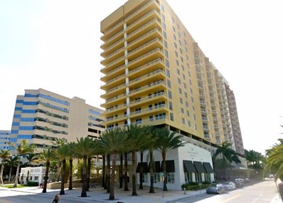 1551 N Flagler Drive UNIT 1109, West Palm Beach, FL 33401 - MLS#: RX-10468180