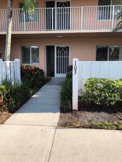 5914 Regal Glen Drive UNIT 103, Boynton Beach, FL 33437 - MLS#: RX-10468284