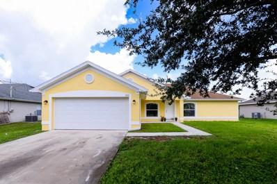 555 SW Laconic Avenue, Port Saint Lucie, FL 34953 - MLS#: RX-10468305