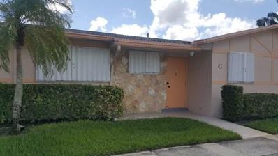2631 Dudley Drive W UNIT G, West Palm Beach, FL 33415 - MLS#: RX-10468419