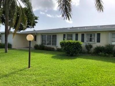 3240 Ridge Hill Road UNIT B, Boynton Beach, FL 33435 - MLS#: RX-10468518