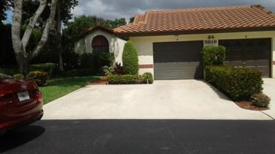 5919 Autumn Lake Lane UNIT A, Boynton Beach, FL 33437 - MLS#: RX-10468773