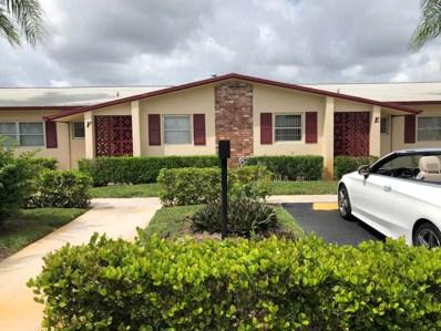 2990 Crosley Drive E UNIT F, West Palm Beach, FL 33415 - MLS#: RX-10468977