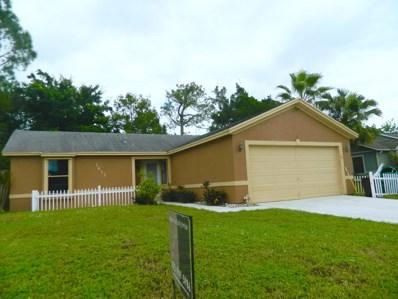 1611 SW Buffum Lane, Port Saint Lucie, FL 34984 - MLS#: RX-10469342