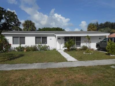 1001 Snowden Drive, Lake Worth, FL 33461 - MLS#: RX-10469458