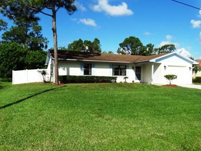 2138 SW Wayne Street, Port Saint Lucie, FL 34984 - MLS#: RX-10470359