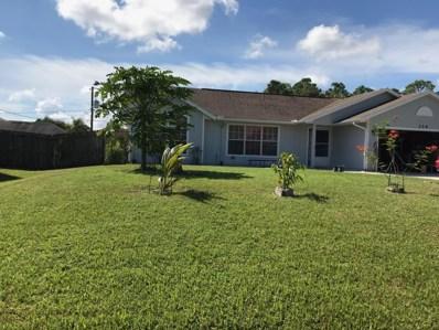 314 SW Twig Avenue, Port Saint Lucie, FL 34983 - MLS#: RX-10470376