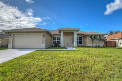 538 SW Kabot Avenue, Port Saint Lucie, FL 34953 - MLS#: RX-10470726