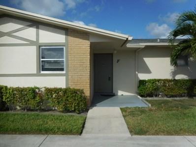 2561 Emory Drive W UNIT F, West Palm Beach, FL 33415 - MLS#: RX-10470944