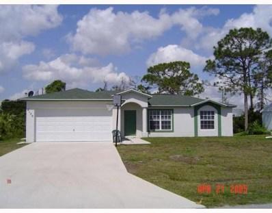 2150 SE Triumph Road, Port Saint Lucie, FL 34952 - MLS#: RX-10470980
