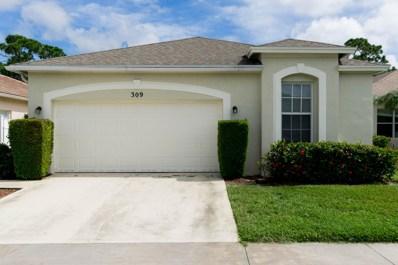 309 SW Tomoka Springs Drive, Port Saint Lucie, FL 34986 - MLS#: RX-10471090