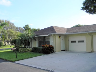 9950 Orchid Tree Trail UNIT A, Boynton Beach, FL 33436 - #: RX-10471386