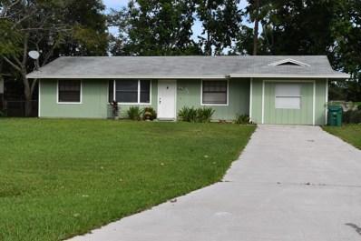 4017 SW Hablow Street, Port Saint Lucie, FL 34953 - MLS#: RX-10471495