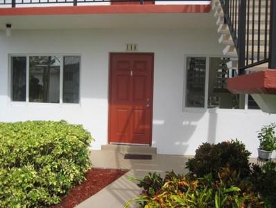 3120 Cynthia Lane UNIT 116, Lake Worth, FL 33461 - MLS#: RX-10471555