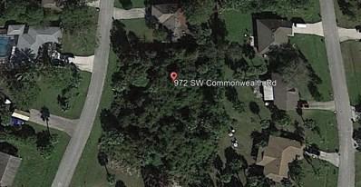 972 SW Commonwealth Road, Port Saint Lucie, FL 34953 - MLS#: RX-10471763