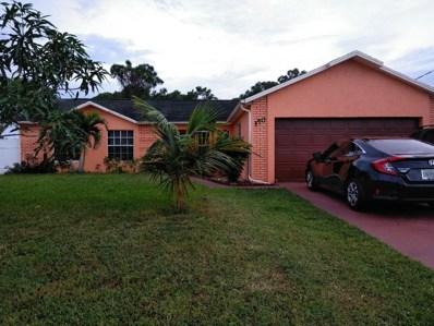 150 SW Kestor Drive, Port Saint Lucie, FL 34953 - MLS#: RX-10471787