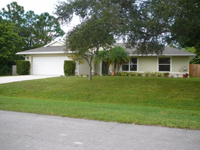 6860 NW Dragon Street, Port Saint Lucie, FL 34983 - MLS#: RX-10472107