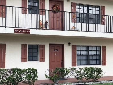 4249 Oak Terrace Drive, Greenacres, FL 33463 - MLS#: RX-10472163