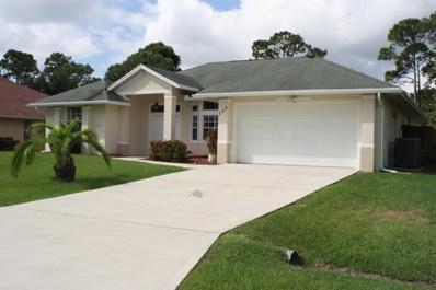 129 SE Fallon Drive, Port Saint Lucie, FL 34983 - #: RX-10472334