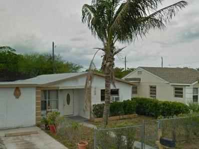 708 W 5th Street, Riviera Beach, FL 33404 - MLS#: RX-10472339