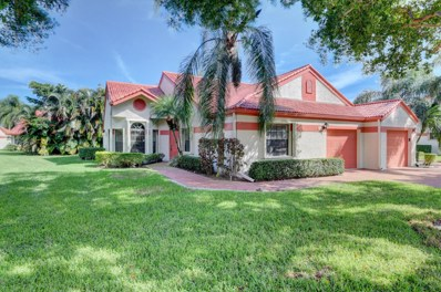 7573 Lexington Club Boulevard UNIT A, Delray Beach, FL 33446 - MLS#: RX-10472532