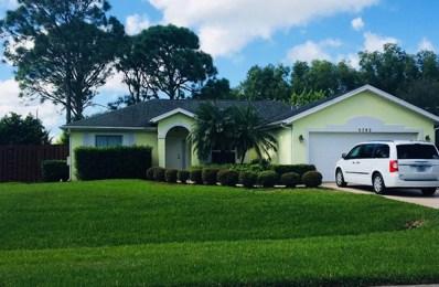 5792 NW Coosa Drive, Port Saint Lucie, FL 34986 - MLS#: RX-10472827