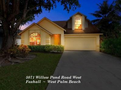 5071 Willow Pond Road W, West Palm Beach, FL 33417 - MLS#: RX-10473029